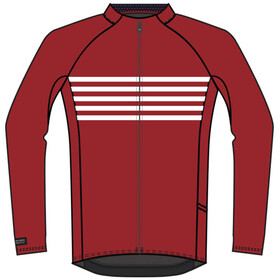 Bontrager Circuit Cycling LS Jersey Men Cardinal